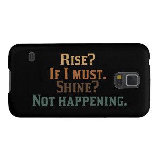 Protections Galaxy S5 Hausse et éclat drôles ?