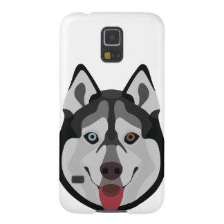 Protections Galaxy S5 L'illustration poursuit le chien de traîneau