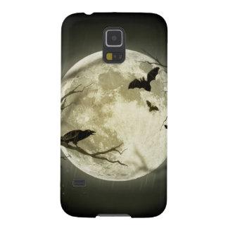 Protections Galaxy S5 Lune de Halloween - illustration de pleine lune