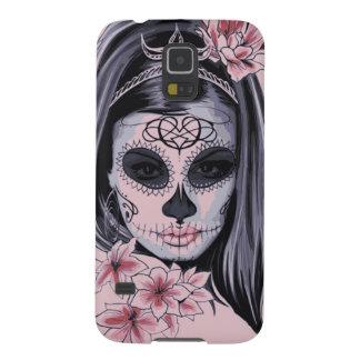 Protections Galaxy S5 Masque de squelette de femme