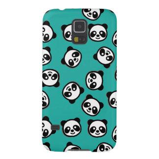 Protections Galaxy S5 Motif noir et blanc de bande dessinée de panda