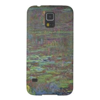 Protections Galaxy S5 Nénuphars de Claude Monet | au coucher du soleil