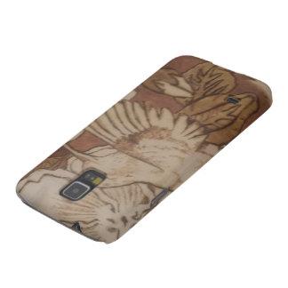 Protections Galaxy S5 Oiseau de ronflement de ketmie