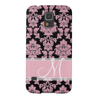 Protections Galaxy S5 Parties scintillantes d'or de rose de rose et