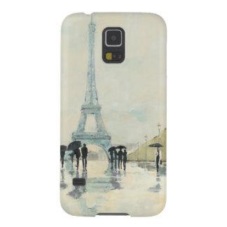 Protections Galaxy S5 Tour Eiffel   Paris sous la pluie
