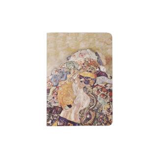 Protège-passeport Bébé dans l'édredon brillamment coloré