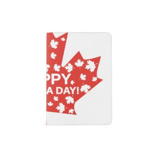 Protège-passeport Célébration de jour du Canada