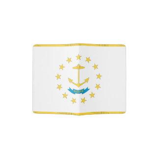Protège-passeport Drapeau d'ÎLE DE RHODE -