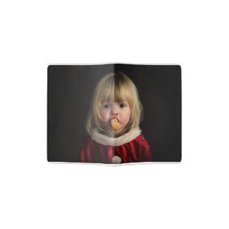 Protège-passeport Fille de Noël - enfant de Noël - fille mignonne