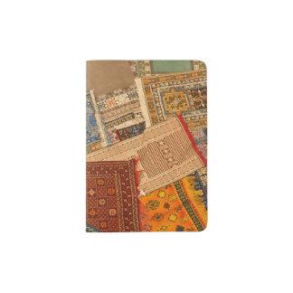 Protège-passeport Fin de collage de tapis