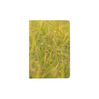Protège-passeport Photo de détail d'herbe