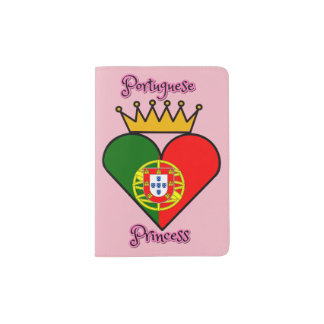 Protège-passeport Princesse portugaise Passport Holder