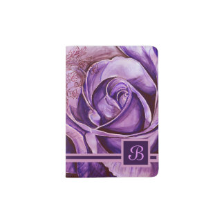 Protège-passeport Un rose 5