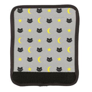 Protège Poignée Pour Bagage Enveloppe de poignée de lune de chat de Kitty et