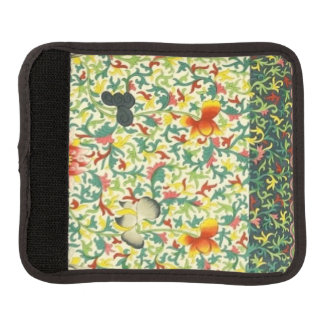 Protège Poignée Pour Bagage Enveloppe florale vintage de poignée de bagage de