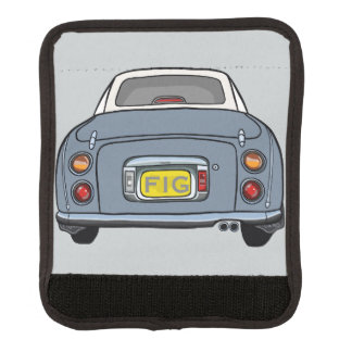 Protège Poignée Pour Bagage Enveloppe grise de poignée de bagage de voiture de