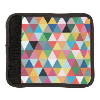 Protège Poignée Pour Bagage Enveloppe modelée géométrique colorée de poignée