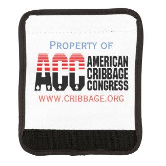 Protège Poignée Pour Bagage Étiquette de bagage de Cribbage