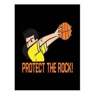 Protégez la roche carte postale