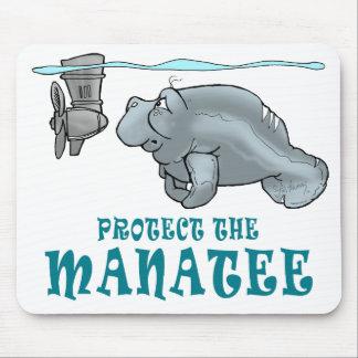 Protégez le lamantin Mousepad Tapis De Souris