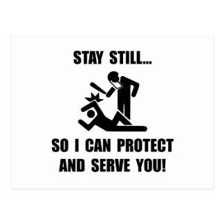Protégez le service carte postale