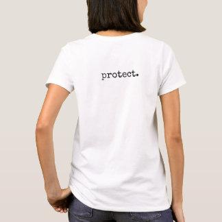Protégez le T-shirt de nos femmes de planète