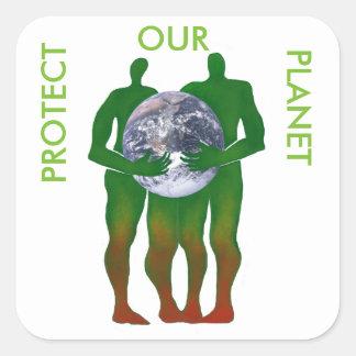 Protégez nos autocollants de planète