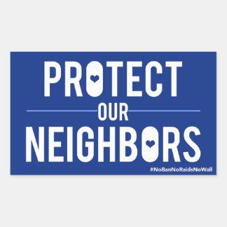 Protégez notre autocollant de voisins
