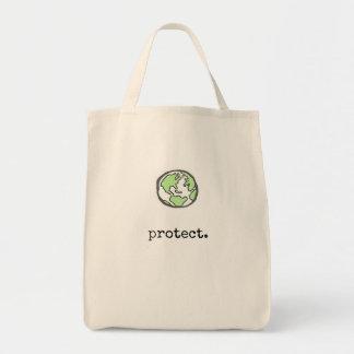 Protégez notre planète tote bag