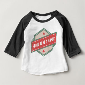 Proud to be a Maker vintage logo T-shirt Pour Bébé