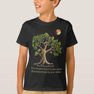 Proverbe kenyan de nature t-shirt