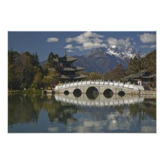 Province de la CHINE, Yunnan, Lijiang. Lijiang vie Photos D'art