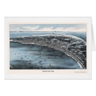 Provincetown, carte panoramique de mA - 1910