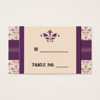 Prune et cartes d'endroit de Champagne mariage