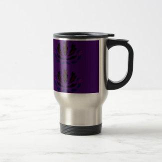 PRUNE POURPRE vintage   d'ornements pourpres Mug De Voyage