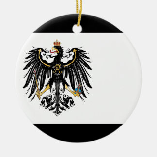 Prussia.png Ornement Rond En Céramique