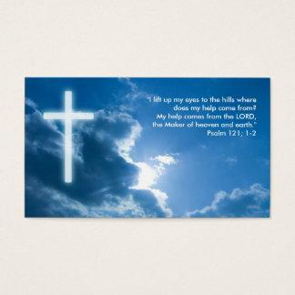 Psaume 121 ; 1-2 - Carte de visite chrétien