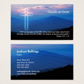Psaume 121 ; 1 chrétiens de 2 % pipe% cartes de visite