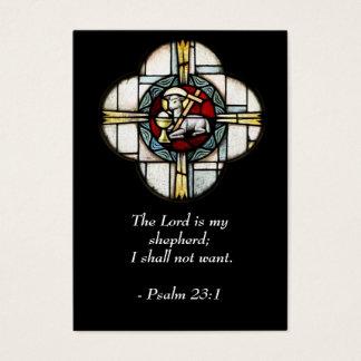 Psaume 23 - Citations inspirées - carte de