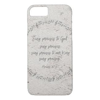 Psaumes : Chantez les éloges à Dieu Coque iPhone 7