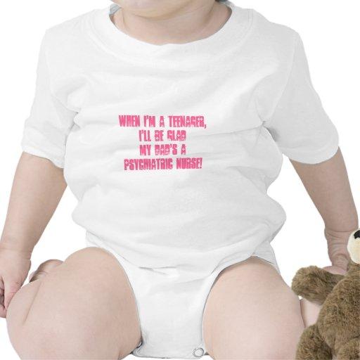 Psychiatrique Infirmière-Votre humour d'enfants ! T-shirts