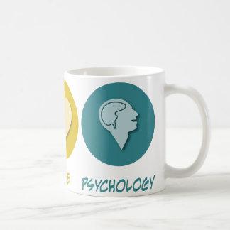 Psychologie d'amour de paix mug