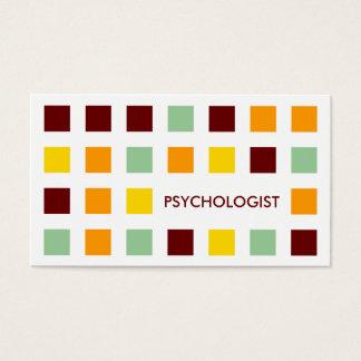 PSYCHOLOGUE (carrés de mod) Cartes De Visite