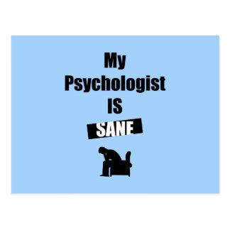 Psychologue Carte Postale
