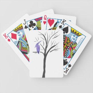 Ptérodactyle dans un arbre jeu de cartes