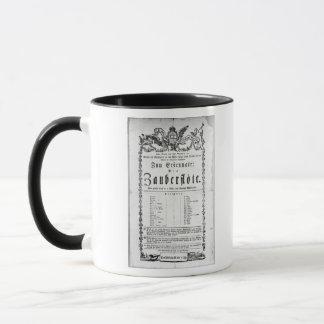 Publicité d'affiche de ` le Flute magique Mug