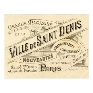 Publicité française vintage carte postale