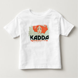 """Publicité pour des """"cigarettes de Kadda"""" (litho de T-shirt Pour Les Tous Petits"""