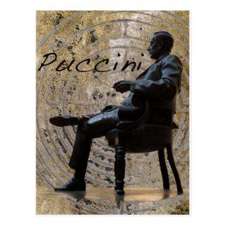 Puccini_Statue_Lucca1 Carte Postale