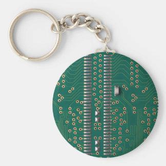 Puce de mémoire porte-clé rond